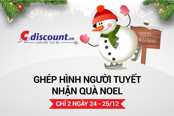 Cdiscount.vn: Rinh qua khung - Vui don Giang sinh hinh anh