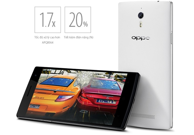 OPPO Find 7A giam gia manh hut khach hinh anh