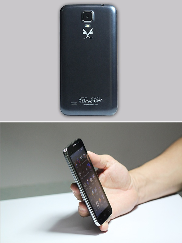 Dien thoai 5 inch gia re cua nam 2015 hinh anh 2 Mẫu mã đẹp, mạnh mẽ, bền bỉ, khả năng làm việc cường độ cao, là cái gốc của điện thoại BX-M8572