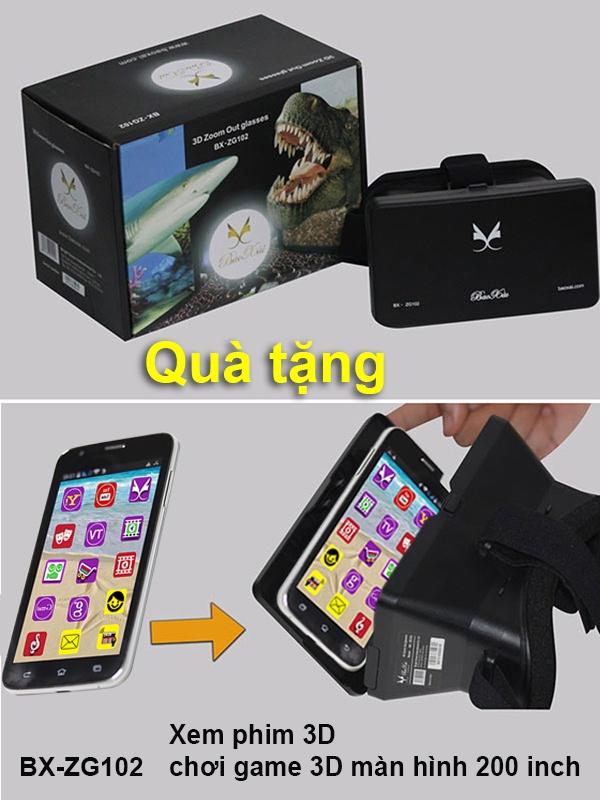 Dien thoai 5 inch gia re cua nam 2015 hinh anh 3 BX-ZG102- Biến điện thoại thành rạp phim 3D, màn ảnh rộng 200 inch.