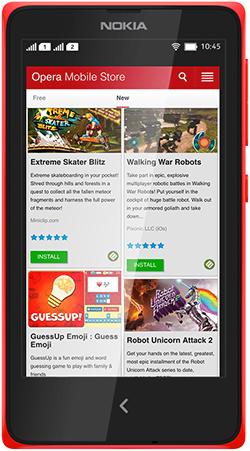 Microsoft bat tay Opera trinh lang Opera Mobile Store hinh anh 1   Sự thay thế của Opera Mobile Store trên các thiết bị của Nokia trước đây hỗ trợ người dùng cập nhật các ứng dụng cần thiết.