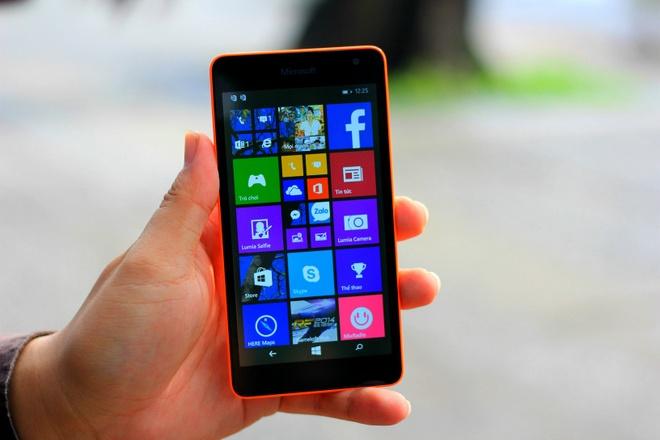 Lumia 535: Cau hinh tot so voi smartphone tam trung hinh anh