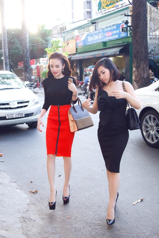 Angela Phuong Trinh than thiet voi Tram Ruco hinh anh 5
