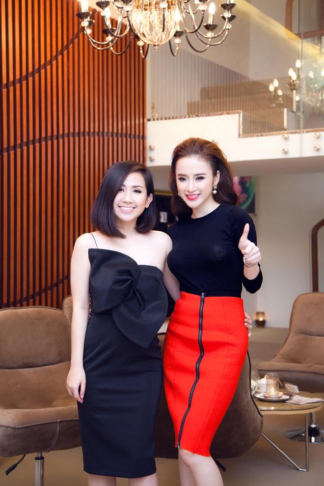 Angela Phuong Trinh than thiet voi Tram Ruco hinh anh 7