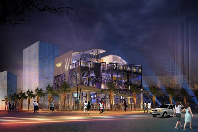 Tan huong phong cach hoang gia tai Hoang Trieu beer club hinh anh 1 Được đầu tư lớn về thiết kế và nội thất, Hoàng Triều beer club sẽ mang tới những trải nghiệm mới mẻ cho khách hàng.