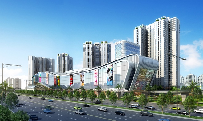 Vingroup khoi cong TTTM Vincom Mega Mall Thao Dien hinh anh