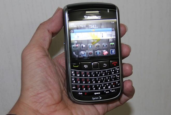Blackberry 9650 nghe - goi ro hinh anh