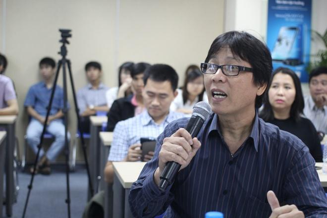 Video cha con gay xuc dong gianh giai di Han Quoc hinh anh 8 Anh Lê Trung Việt cho biết, đây là một bài thi nhẹ nhàng, mang đến không khí thoải mái cho buổi chung kết.