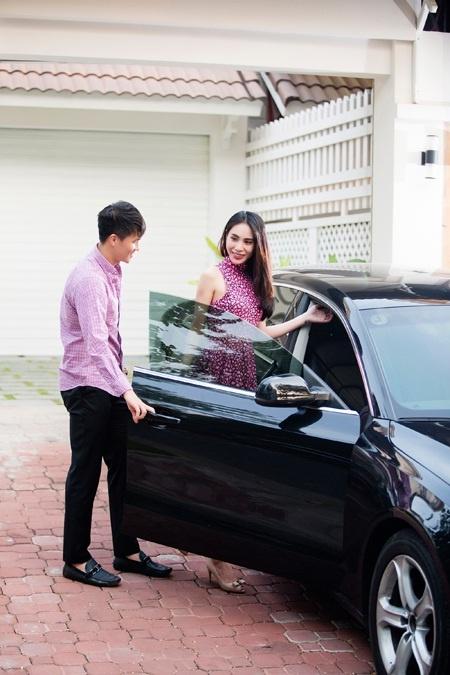 Thuy Tien va Cong Vinh tinh tu trong biet thu trieu do hinh anh 1 Thủy Tiên và Công Vinh vừa chuyển tới biệt thự triệu đô ở quận 7, TP.HCM.