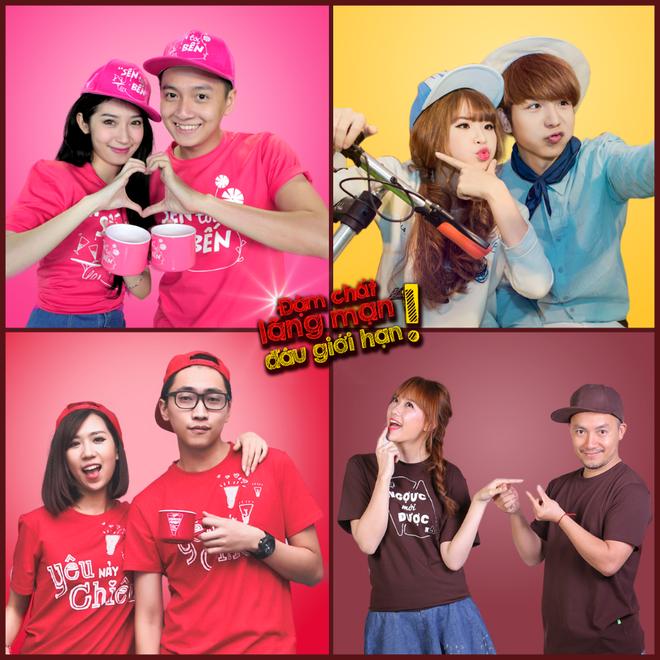 4 cặp đôi của Vpop sẽ tham gia chia sẻ về bí quyết lãng mạn và biểu diễn tại Cornetto Valentine 2015.