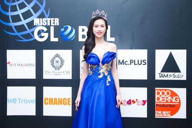 Hoa hau Dong Nam A Thu Vu noi bat o chung ket Mister Global hinh anh