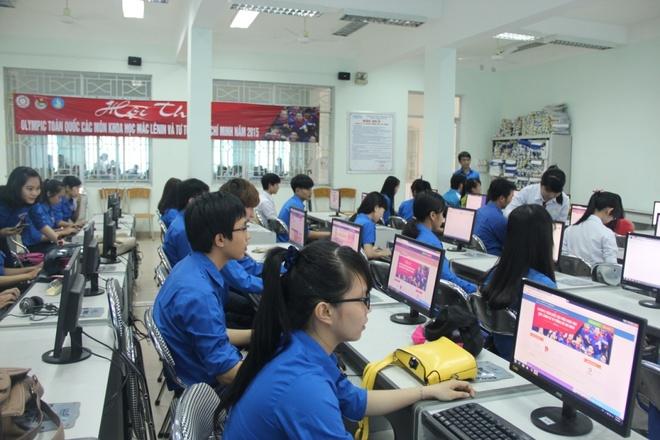 'Anh sang soi duong' khoi nguon cam hung cho sinh vien hinh anh 2 Sinh viên Đại học Tiền Giang tham gia hội thi.