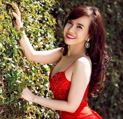 Thi sinh Hoa hau Phu nu nguoi Viet The gioi khoe sac hinh anh