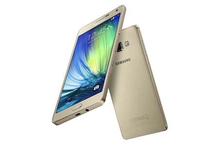 Samsung ra mat dien thoai nguyen khoi mong nhat Galaxy A7 hinh anh