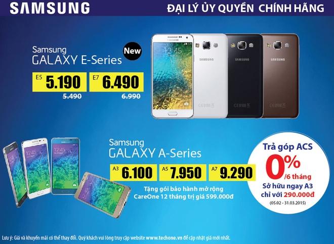 Galaxy S6 ra mat, Samsung doi cu giam gia khung hinh anh