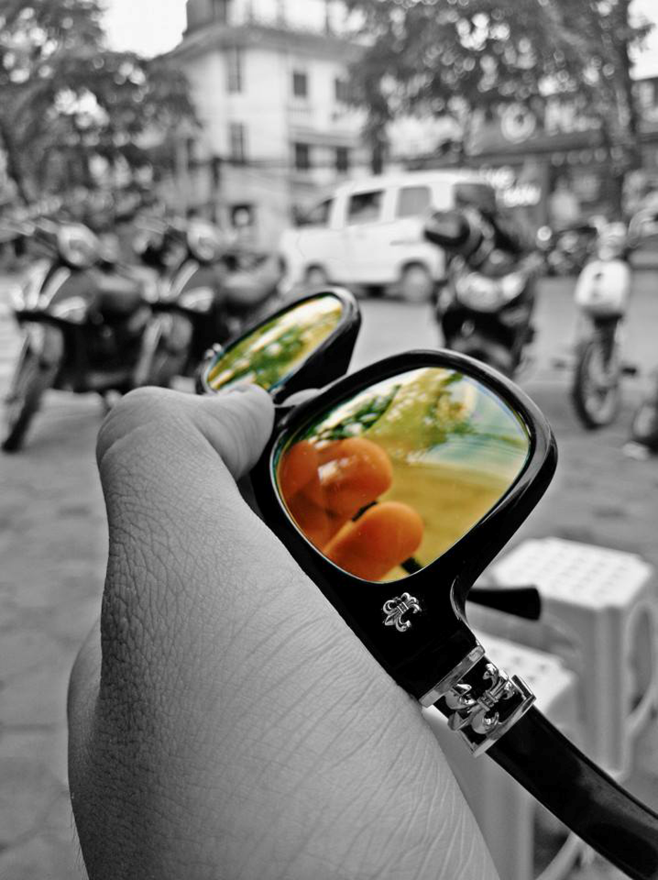 """Một số hình ảnh chụp bằng Galaxy A7 với camera 13MP được chỉnh hiệu ứng ánh sáng và màu sắc """"phản ánh"""" cá tính của Ứng Duy Kiên"""