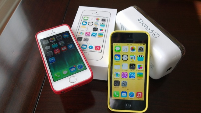 iPhone 5C khuay dong thi truong khi giam con 1,9 trieu dong hinh anh 1