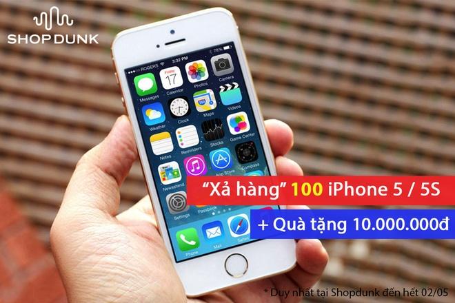 'Chay' hang iPhone 5C gia 2,5 trieu dong tai ShopDunk hinh anh