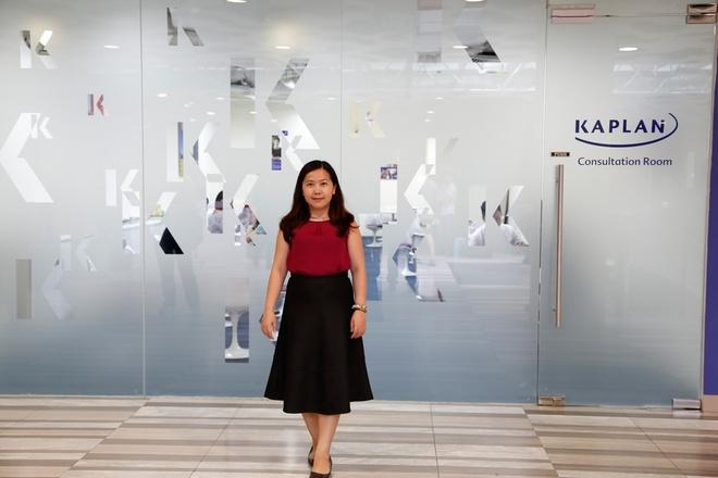 Kaplan Singapore tang phi ghi danh cho sinh vien Viet Nam hinh anh 4 Đại diện INEC trong chuyến thăm Kaplan Singapore đầu năm 2015.