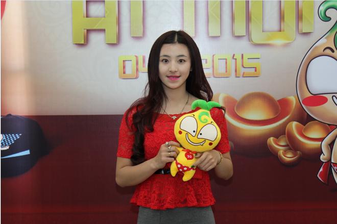 Hotgirl Banh Trang Tron lam dai dien hinh anh cho game? hinh anh
