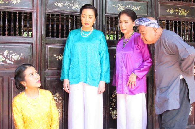 NSUT Kim Xuan an tuong voi vai phan dien phim 'Ai tran gian' hinh anh