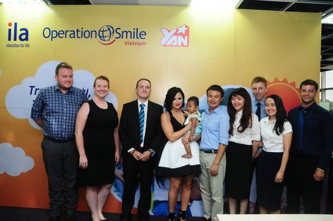 ILA trao tang 270 trieu dong cho to chuc Operation Smile hinh anh