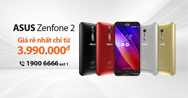 Luong dat hang Asus Zenfone 2 tang cao hinh anh