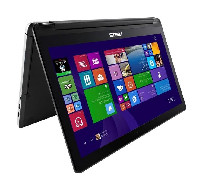 Loat laptop '2 trong 1' an tuong cua ASUS hinh anh
