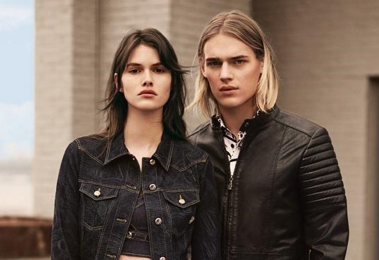 Versace Jeans gioi thieu BST xuan he 2015 hinh anh