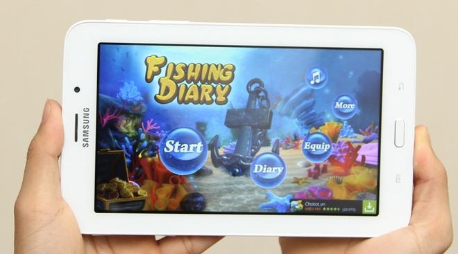 Galaxy Tab 3V phù hợp cho việc học hành, giải trí của trẻ.