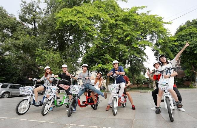 Lựa chọn chiếc xe đạp điện cũng là cách giúp con tự mình trải nghiệm mùa hè