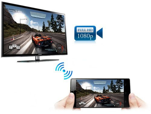 Công nghệ HDMI không dây nâng Aveo X8 lên tầm siêu phẩm.