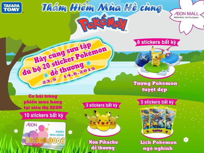 Co hoi gap go Pokemon tai Viet Nam trong mua he hinh anh 5