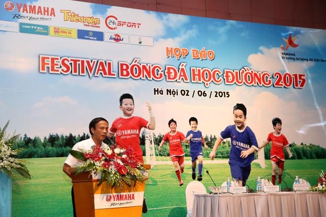 'Festival bong da hoc duong U13' buoc vao vong chung ket hinh anh
