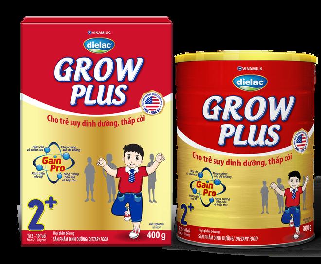Dielac Grow Plus: Giai phap cho tre suy dinh duong, thap coi hinh anh 1