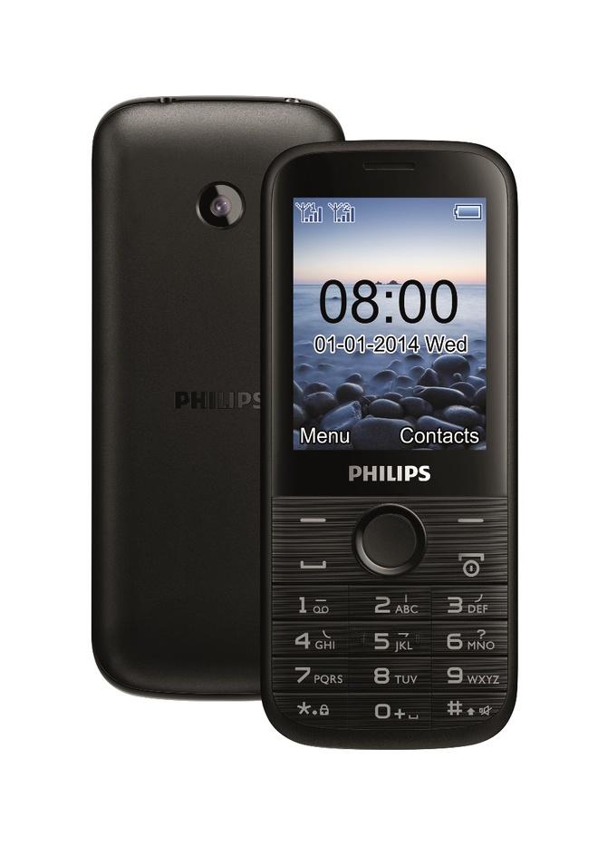 Philips E160: Dien thoai gia re, pin ben hinh anh
