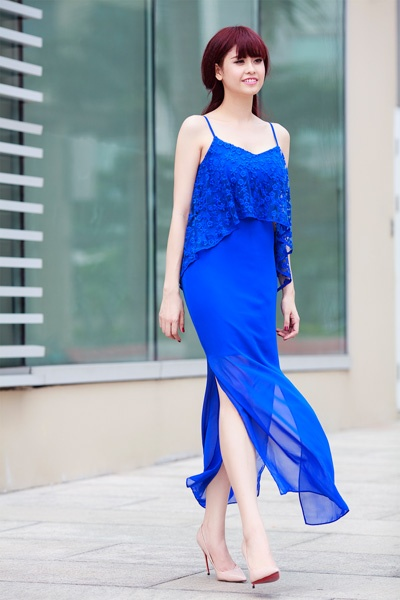 Street style thanh lich va goi cam cua Truong Quynh Anh hinh anh 10