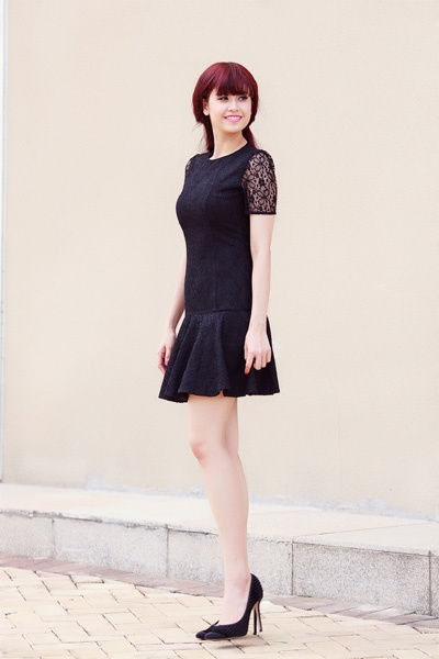 Street style thanh lich va goi cam cua Truong Quynh Anh hinh anh 8