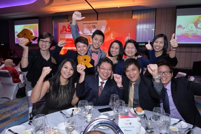 JobStreet.com nhan 2 giai vang tai Asia Recruitment Awards hinh anh