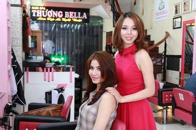 Thuong Bella: Noi lam toc cua dien vien Kha Ly va Thanh Duy hinh anh