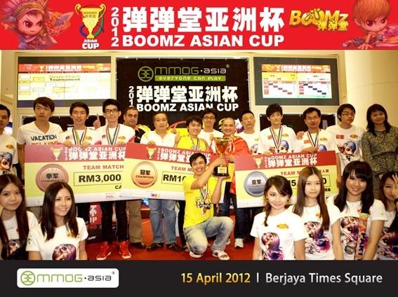 Chiến thắng đã mỉm cười với đội tuyển Việt tại giải đấu Gunny Châu Á 2012 (ở Malaysia Gunny có tên khác là Boomz)
