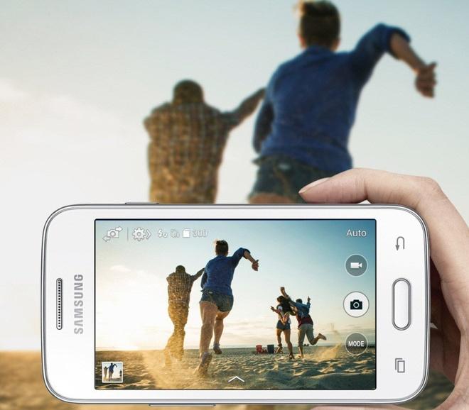 Galaxy V Plus được nhiều học sinh, sinh viên năng động yêu thích vì giá mềm và sở hữu nhiều tính năng hữu ích.