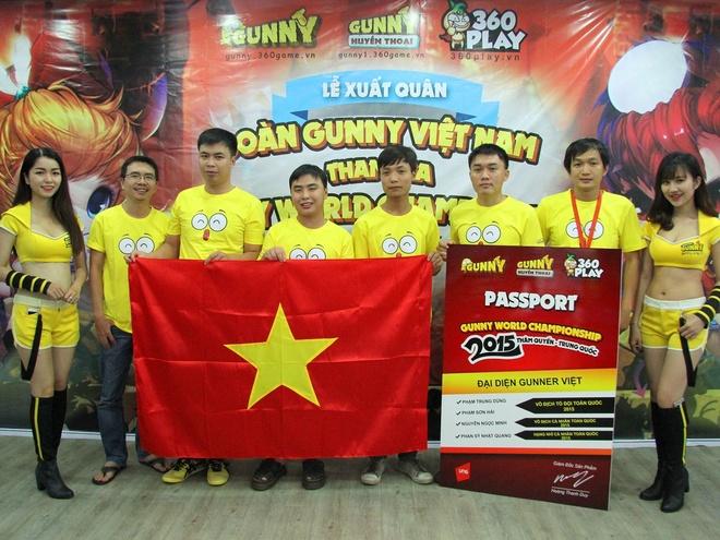 Tuyen thu Viet san sang truoc giai dau 'Gunny the gioi 2015' hinh anh