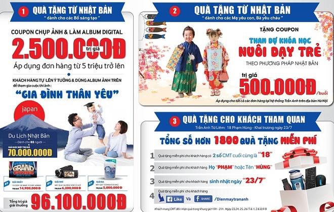 Tran Anh khai truong sieu thi moi o Nam Tu Liem, Ha Noi hinh anh 1