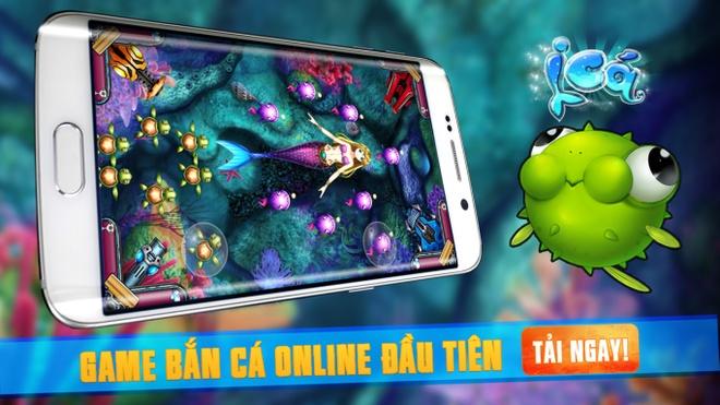 Xuat hien game ban ca online dau tien tren di dong tai VN hinh anh