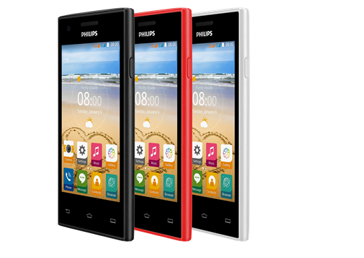 Philips S309: Dien thoai re cho nguoi moi dung smartphone hinh anh