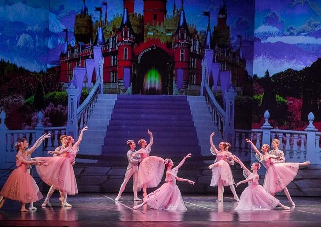 Ho Thien Nga: Vo ballet kinh dien trong ky nguyen giai tri hinh anh 3
