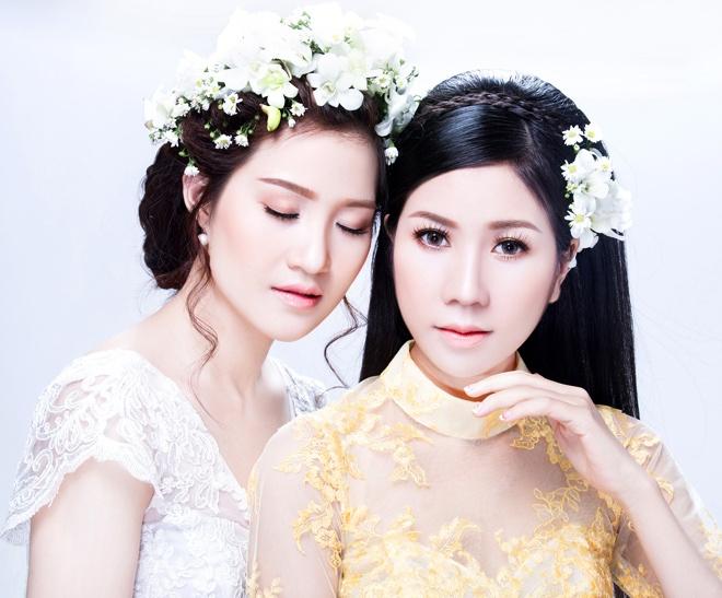 Trang diem tong hong cam cho mua cuoi 2015 hinh anh 9