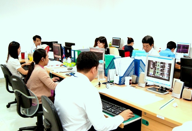 Hoa vien kien truc 2D - tro thu dac luc cua kien truc su hinh anh 2 Nhóm thiết kế kiến trúc xây dựng tại công ty CBS Việt Nam
