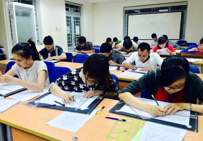 Hoa vien kien truc 2D - tro thu dac luc cua kien truc su hinh anh 4 Vẽ kỹ thuật là môn học nền tảng giúp học viên CBS đọc hiểu và thiết lập được các bản vẽ kỹ thuật